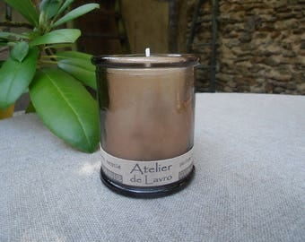 TUBEROSE scented fragrance extracts, recycled glass
