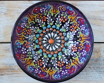 Bowl, purple bowl, pottery bowl, purple plate, decorative bowl, ceramic, handmade bowl, violet pottery, handmade pottery, bowl, ceramic bowl