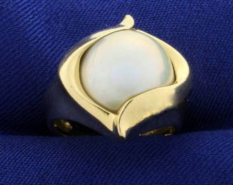 South Sea Pearl Ring in 14k Gold