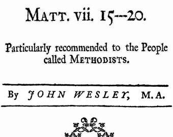 A Caution against False Prophets by John Welsey