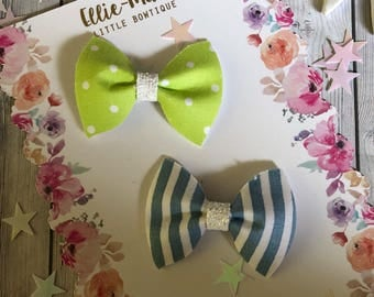 Spring Pinch Bow
