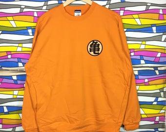 Rare!! DRAGONBALL Sweatshirt Crewneck Small Logo