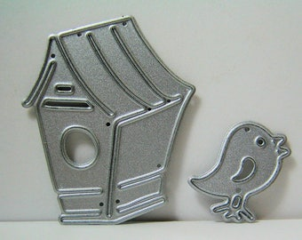 Tiny Bird and Birdhouse Metal Cutting Dies
