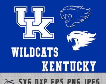 Kentucky WildCats SVG PNG Logo Vector Cut File Silhouette Studio Cameo Cricut Design Template Stencil Vinyl Decal Tshirt Transfer Iron on