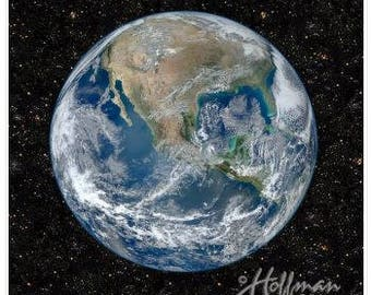 New!  Earth Panel by Hoffman Fabrics