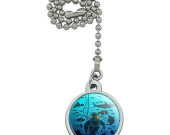 Diver Retro Ocean Sea Diving Ceiling Fan and Light Pull Chain