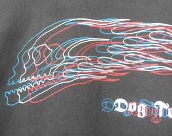 Vintage 80s 90s DogTown Sweatshirt//Skateboards//Flames Pushhead//Size L