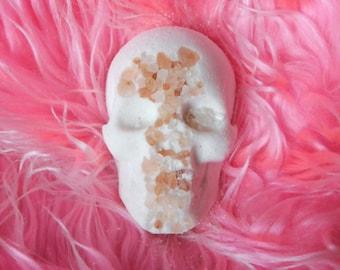 Rock Salt Skull Bath Bomb