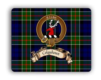 Scottish Clan Colquhoun Crest Computer Mouse Pad