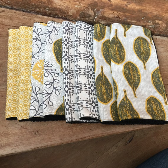 All washable and reusable wipes