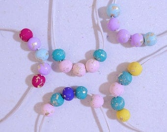 Bambi Polymer Bead Necklace for Kids