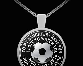 I Love To Watch You Play - Love Mom - Necklace