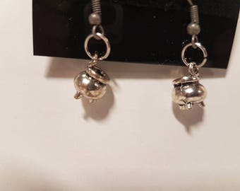 mini Cauldron earrings