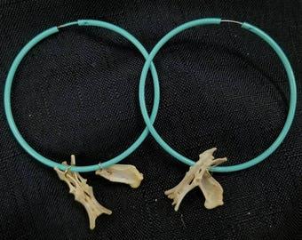 Tiffany blue hoops