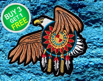 Eagle Patches Bird Patch Iron On Patch Sew On Patch Patches And Pins