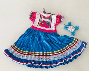 Mexican baby dress. Baby dress. Babies clothing. Mexican dress. Guerrero. Mexican textiles. Baby look. Party dress.