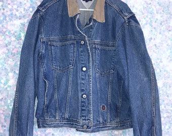 Vintage 90s Tommy Hilfiger Denim Jean Jacket