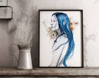 One For Sorrow | Limited Edition Print