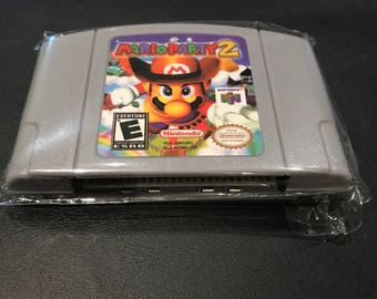 Mario Party 2 N64 Cartridge *Fast/Free Shipping Tested and Working* USA SELLER