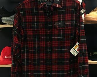 Polo flannel button down shirt