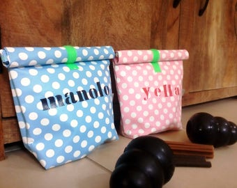 Dogbag Lunchbag, Futterbag, dog food, feed box, snack, lunch, food bag, dog accessories, Hundeleckerlies, storage, bag, Hundebag,