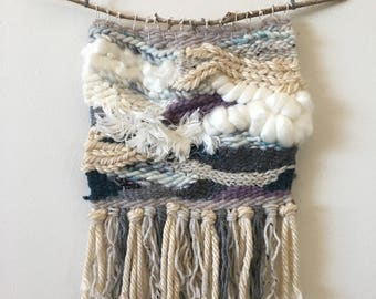 woven wall hanging, wall weaving, woven tapestry, woven wall art, yarn wall hanging