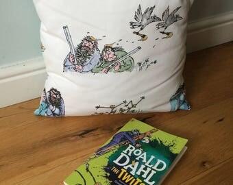 "Roald Dahl ""The twits"" cushion"