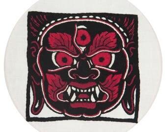 ALEX BINNIE-MAHAKALA- Embroidery Kit Art Edition