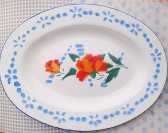 Enamel scale, made in China, T made in China, floral decoration
