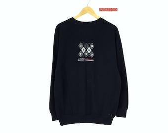 Rare!!! Japanese Brand Vintage Kansai Yamamoto Sweatshirt Big Logo Up to you by Kansai Yamamoto Embroidery Spellout Stripes Pullover Jumper