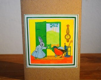 Easter Bunny Cards - Set of 6