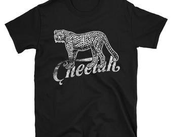 Cheetah Short-Sleeve Unisex T-Shirt Tee