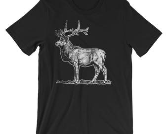 Deer Lover Short-Sleeve Unisex T-Shirt Spirit Animal