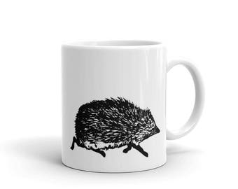 Love Cute Hedgehog Gift Hedgehogs Lover Wildlife Mug made in the USA