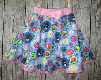 Sweet girls skirts, pink/blue, Gr. 134/140