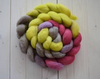 Pear - BFL Combed Top Spinning or Felting Fiber - Twisted Fiber Shop