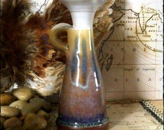 """Immaculate Vintage Rupert Blamire """"Sand Dune"""" Design - Large Oil Jug...Bud Vase, Posy Vase,"""