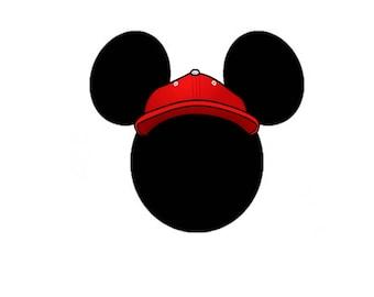 Mickey Mouse Baseball digital file
