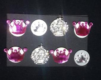 Princess Crown Push Pins