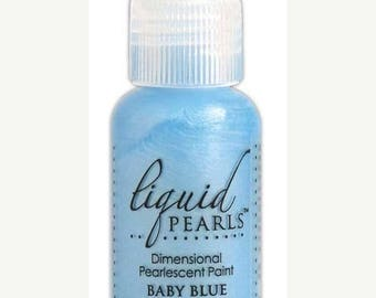 Sweet Hearts Sale: Ranger Liquid Pearls - Baby Blue  0.5 oz