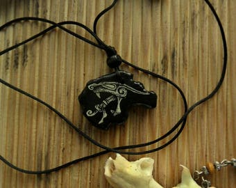 Totem Necklace /Necklace for Men/Animal Necklace/Unique MensNecklace /Gifts for Him/ Amulet/Talisman/A gift for a Viking