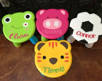 Adorable Toddler Step Stools!