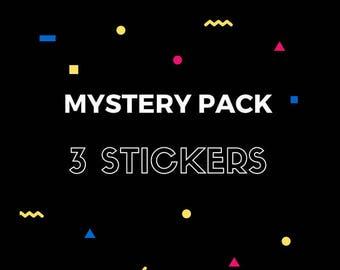 Mystery Packs: 3 Random Stickers