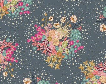 Powder Bloom from Indie Folk collection by Art Gallery Fabrics 112cm (w) x 25cm