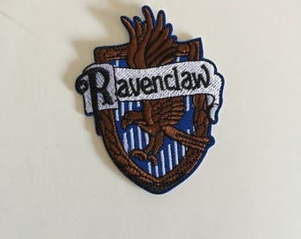 Ravenclaw Inspired Patch Iron On Sew On