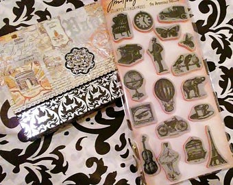 Tim Holtz Stampers Anonymous ~Little Things~ Cling Stamp Set