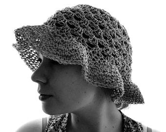 Sun Hat- 100% Natural Hemp