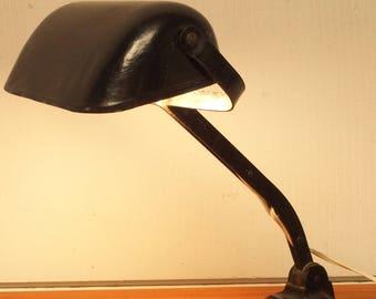 industrial desk lamp 1950