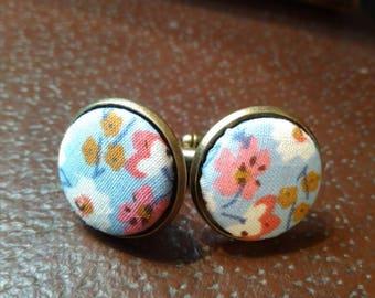 Floral Cufflinks