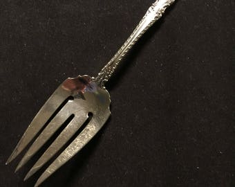 FOXHALL by Watson Sterling cold meat fork serving fork excellent